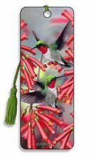 3D Bookmark - Hummingbirds