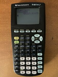 Calculatrice Ti 82 Stats.fr  Texas Instruments Graphique fr