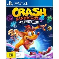 Crash Bandicoot 4: Its About Time PS4 Playstation 4 Brand New Sealed