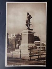 Devon PLYMOUTH Drake's Statue - Old Postcard by Photochrome Co Ltd V4720