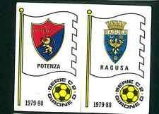 Figurina Calciatori Panini 1979-80! N.568! Scudetti Potenza/Ragusa! Ottima!!