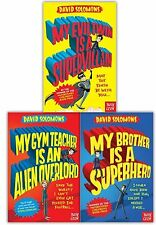 My Brother Is A Superhero Series David Solomons Collection 3 Set Gym Teacher NEW