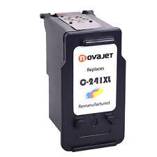 1 PK Novajet CL-241XL Color Ink Cartridge For Canon PIXMA MG4120 MG4220 MX432