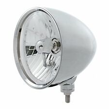 "UNITED PACIFIC 32552 - ""CHOPPER"" Headlight - Crystal H4 Bulb"