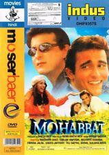 Mohabbat. Film mit Madhuri Dixit & Sanjay Kapoor. Originale Moserbaer DVD