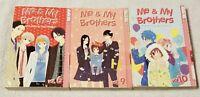 ME & MY BROTHERS Manga 3 Volumes 6 9 10 HARI TOKEINO Tokyopop Shojo ex-library
