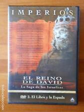 DVD IMPERIOS - EL REINO DE DAVID - LA SAGA DE LOS ISRAELITAS - 2. EL LIBRO Y (C6