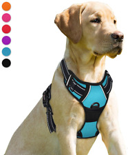 New listing Barkbay No Pull Dog Harness Front Clip Heavy Duty Reflective Easy Control Handle