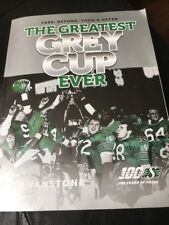 The Greatest Grey Cup Ever - 1989: Before Then & After Saskatchewan CFL FOOTBALL