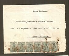 ANGOLA airmail cover to England