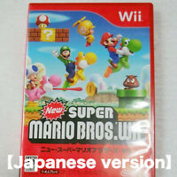 New Super Mario Bros. Nintendo Wii Japan ver【Tested&Works well!!】
