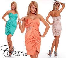 Knielange Damenkleider aus Polyester in L