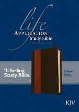 Life Application Study Bible-KJV-Personal Size (Leather / Fine Binding)
