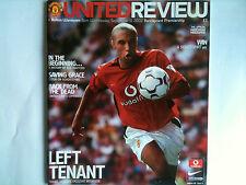 2002/03 Manchester United v Bolton Wanderers Premier League