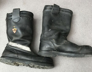 SIZE 13 EURO 48 HAIX GORE-TEX MOTORCYCLE BOOTS