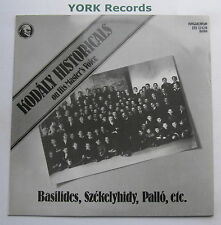 LPX 12420 - KODALY MASTERPIECES ON HIS MASTER'S VOICE - Various - Ex LP Record