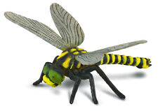 GOLDEN RINGED DRAGONFLY Insect Toy Model by CollectA 88350 *New with tag*