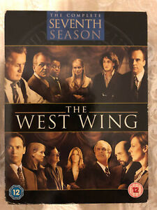 THE WEST WING THE COMPLETE SEVENTH SEASON SERIES 7 DVD REGION 2 PAL TV BOX SET!!