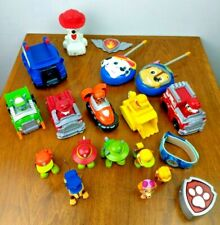 LOT PAW PATROL TOY Vehicles Figures Night Light Walky Talkies Watch