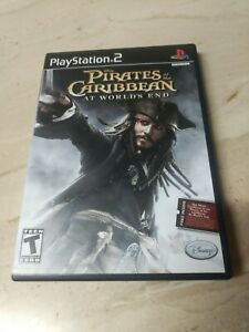 Disney Pirates Of The Caribbean At World's End PlayStation 2 PS2