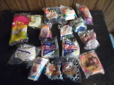 lot of 16 McDonalds Happy Meal toys Disney Barbie Bugs Bunny Flintstones new 90s
