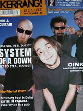 KERRANG 905 - SYSTEM OF A DOWN - MUSE - KITTIE