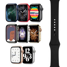 Apple Watch Series 6 - 40mm/44mm - All Case Colors - Black Sport Band - GPS/LTE