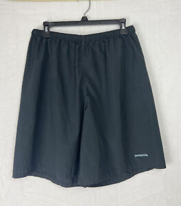 Patagonia men's Athletic Lightweight Running shorts size M Black