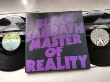 Black Sabbath - Master Of Reality - UK 2009 reissue double 180g vinyl LP