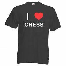 I Love Chess - T Shirt