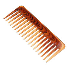 Pro Salon Hairdressing Plastic Anti-static Wide Tooth Hair Comb Detangling