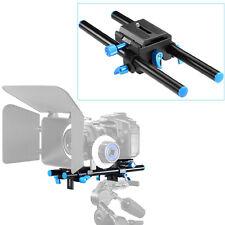 "Neewer 15mm Rail Rod Support System DSLR Camera Mount 9.8""/25cm Long"