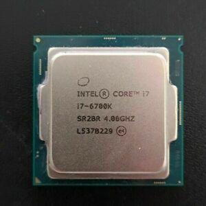 Intel core i7 6700k processor