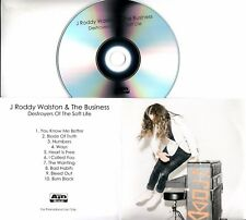J. RODDY WALSTON Destroyers Of The Soft Life 2017 UK 10-trk promo test CD