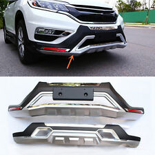 2PCS Front + Rear Bumber Modified replace for Honda CRV 2012 2013 2014 2016