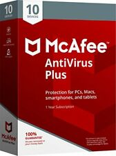 MCAFEE ANTIVIRUS PLUS 2018 10 DISPOSITIVOS PC MAC ANDROID Digital Version