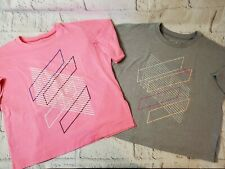 Girls under Armour lot of 2 t-shirts. Size small. Pink, Grey, summer