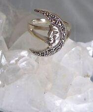 Ring mit Markasit, 925er Silber, Gr 18,1 -