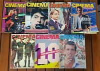 """7 Australian Cinema Papers Magazines 1980's """"Huge 100 Page 35 x 25 cm Editions"""""""