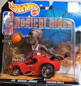 1998 HOT WHEELS NBA RADICAL RIDES-Jordan, Duncan, Iverson, Garnett