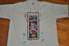 VTG 90s 1995 ATLANTA Peachtree Road Race Nike Chickfila Marathon T shirt Large L