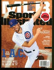 Kris Bryant 2017 Sports Illustrated No Label Newsstand Regional Issue Cubs