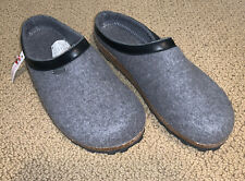 Giesswein Chiemsee Wool Slip On Slippers Clogs, Made In Austria - Unisex Size 45