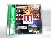 Namco Museum Vol 3 Sony PlayStation 1 - PS1 Game COMPLETE CIB Tested WORKING