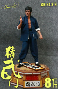 CHINA.X-H Bruce Lee 1/6 Fist of Fury Chan Jhan 81th Anniversary Action Figures