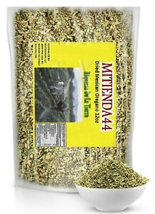 Dried Mexican Oregano (12oz) – Fresh and Fragrant - Dried Whole Leaves Great