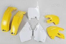 Kit plastique UFO motocross Suzuki RM 125 250 2000 origine jaune