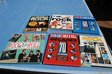 LIVRE ROCK - COLLECTION -ENCYCLOPEDIE - écrit en Anglais - Lot de 6 -----//Rès//