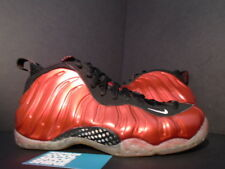 2012 Nike Air FOAMPOSITE ONE 1 VARSITY METALLIC RED WHITE BLACK 314996-610 NEW 9