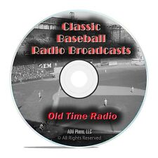 Golden Age of Baseball Old Time Radio Broadcasts, 693 Broadcasts OTR DVD MP3 F99